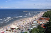 Plaża w Kołobrzegu